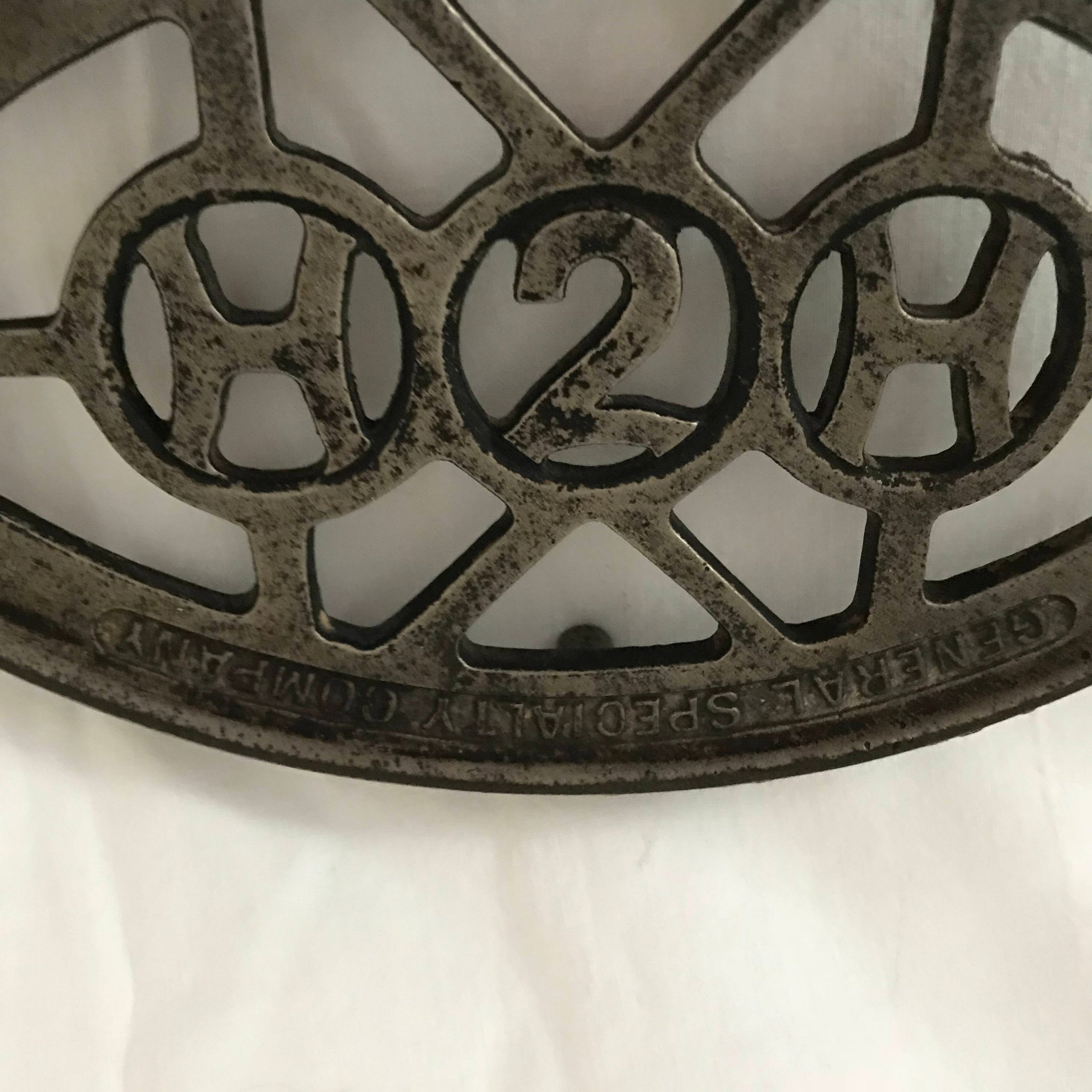 Cast Iron Trivet Iron Holder General Specialty Company Humphrey Gas Iron Holder Antique Collectible Display Laundry Room Wall Decor Carol S True Vintage And Antiques