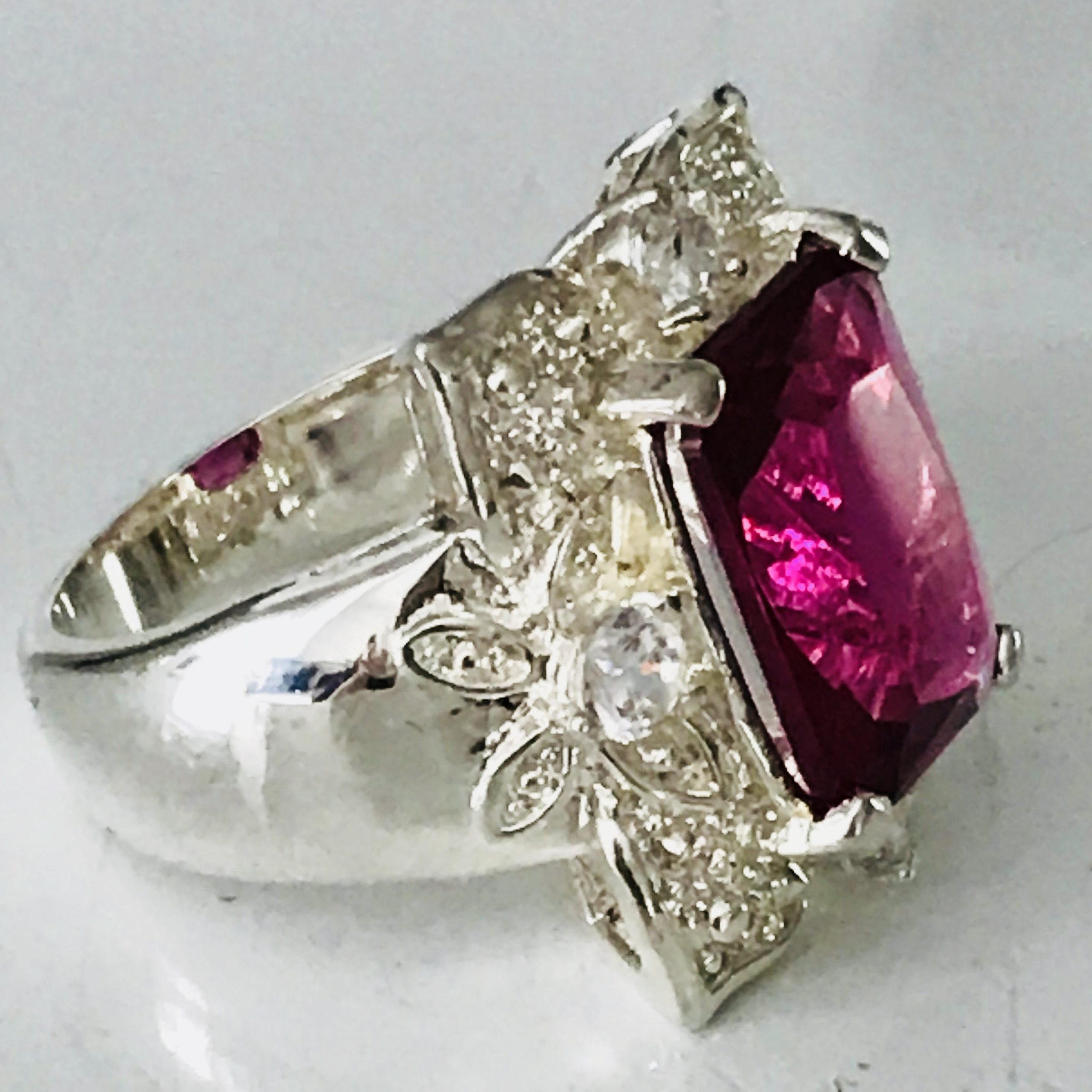 vintage sterling silver ring piece